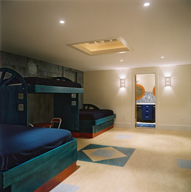 Childrens Bunk Room contemporary kids
