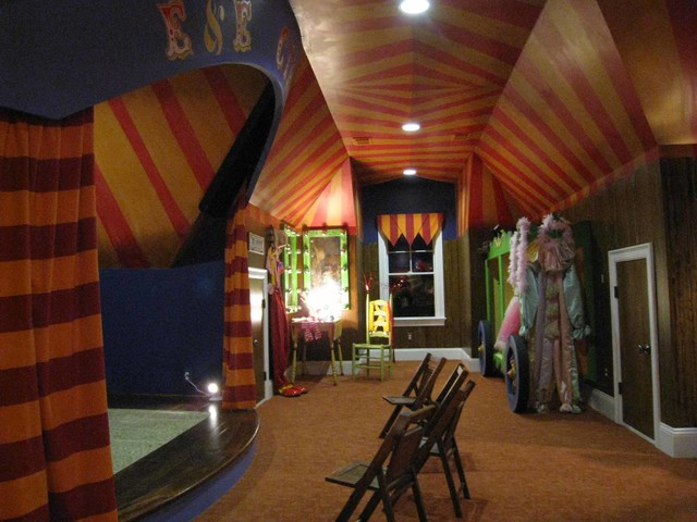 Circus Playroom Traditional Kids Charlotte By