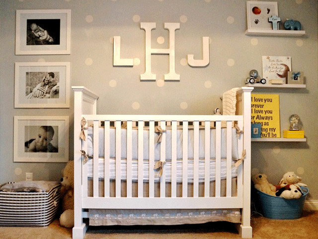 Baby Boy Nursery Tour: Classic Baby Boy Nursery