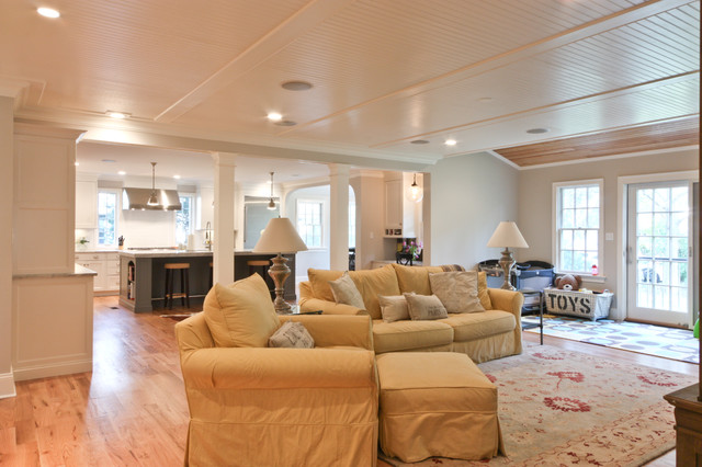 Classic Coastal Colonial Renovation - the Anti McMansion traditional-kids