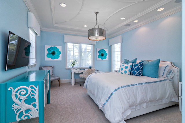 Classic Contemporary transitional-bedroom