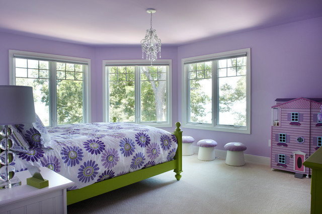 Client Home - Gull Lake, MI traditional-bedroom