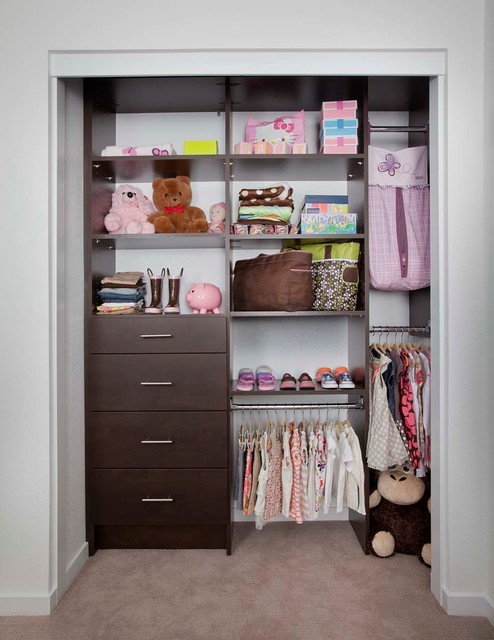 Closets by organizers direct contemporary kids for Kids room closet ideas