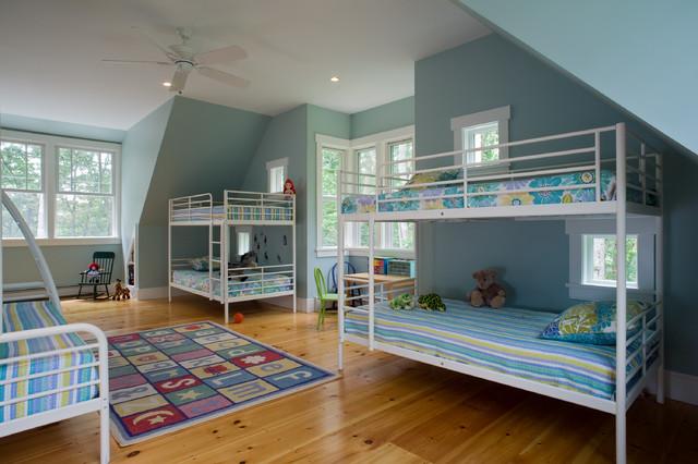 Coastal Maine Vacation House farmhouse-kids