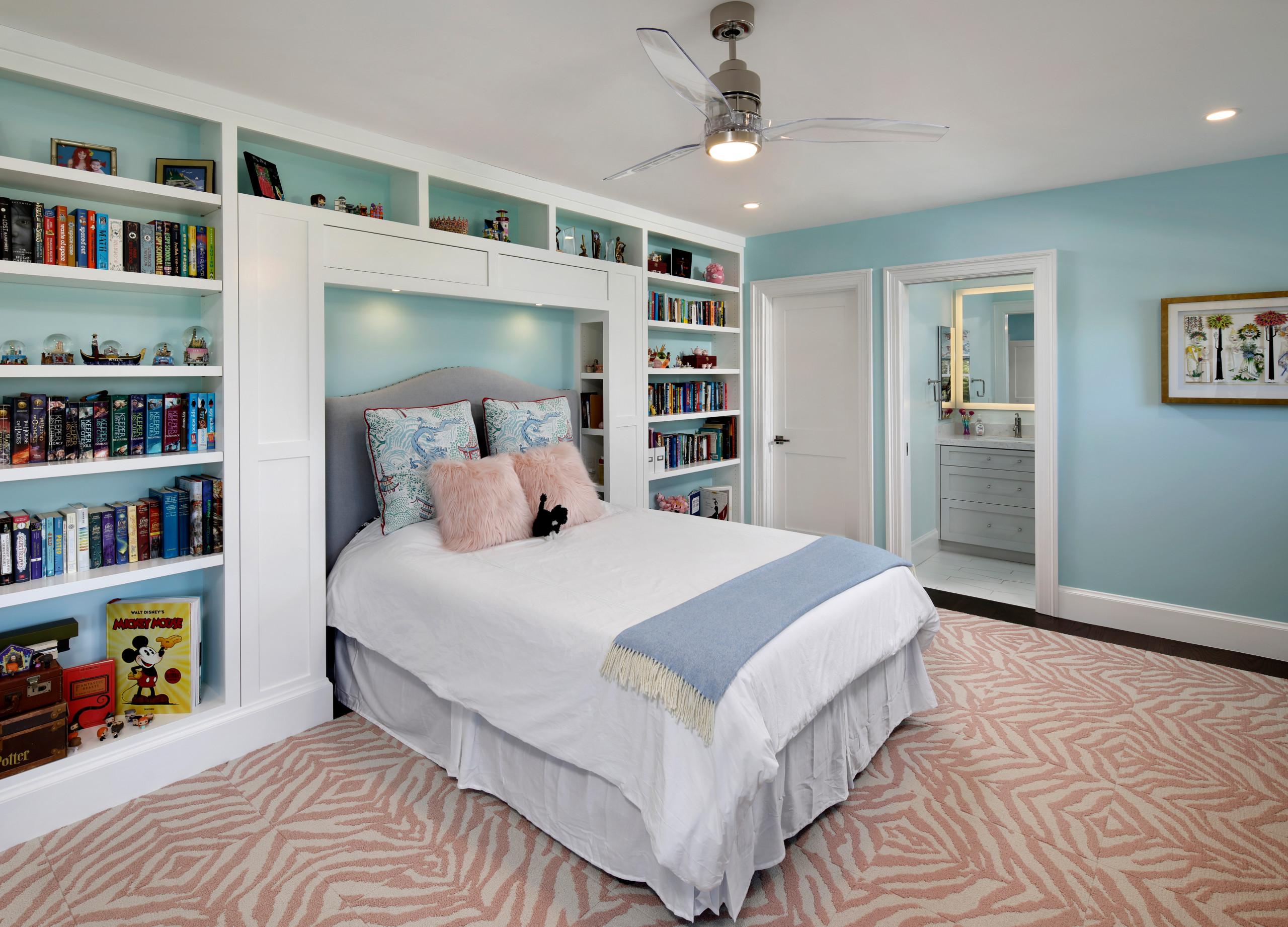 Colonial Revival - girls bedroom
