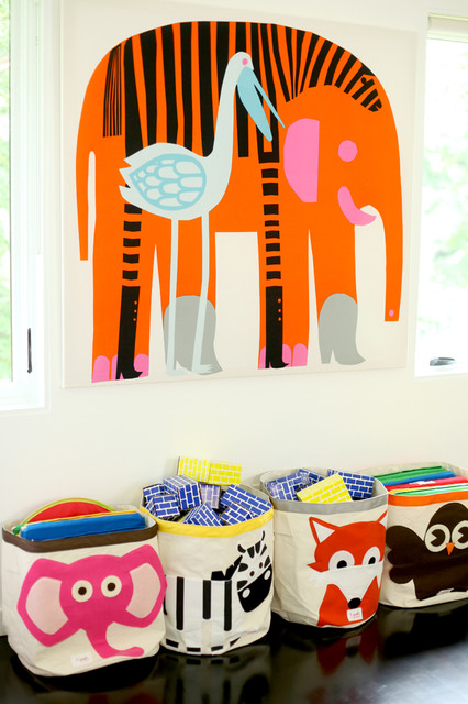 Colorful Playroom contemporary-kids