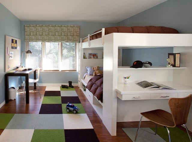 Contemporary boys bedroom contemporary kids