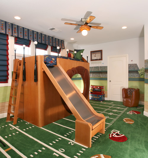 Batter up! Bring the baseball diamond into your home with these decor ideas