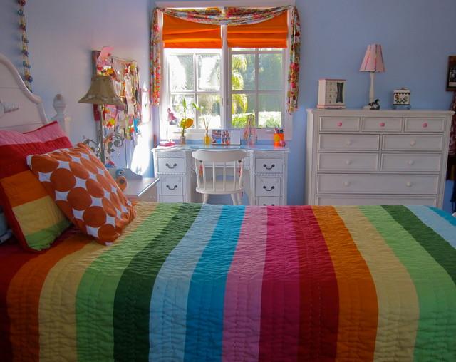 Http Www Houzz Com Photos 2141480 Tween Girls Bedroom Contemporary Kids Other