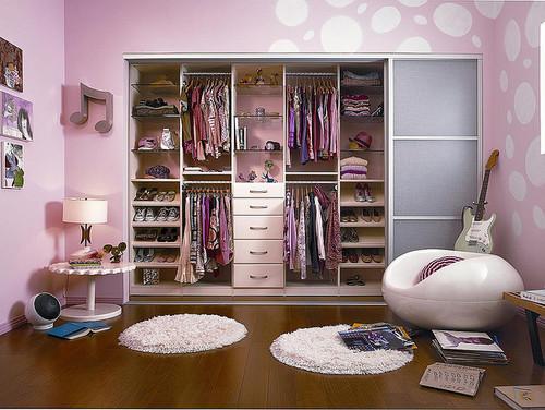 гардероб в комнате для подростка девушки фото