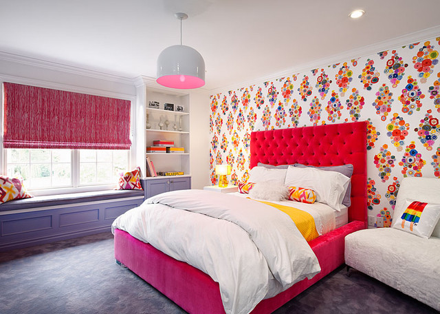 Teenage Girl Bedroom contemporary-kids