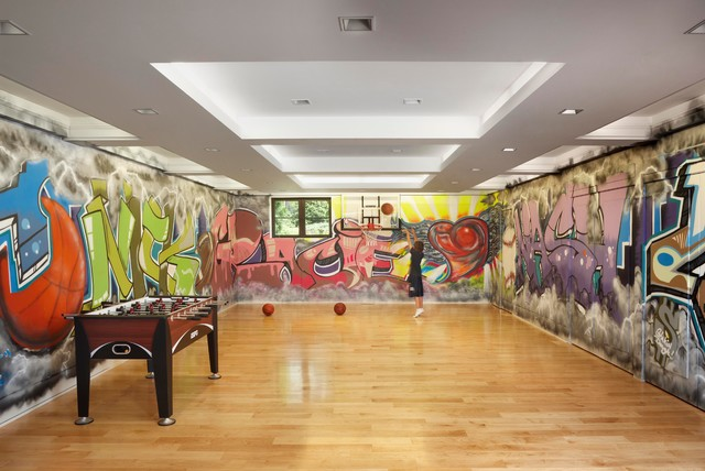 Kids Activity Room Contemporary Kids Detroit By