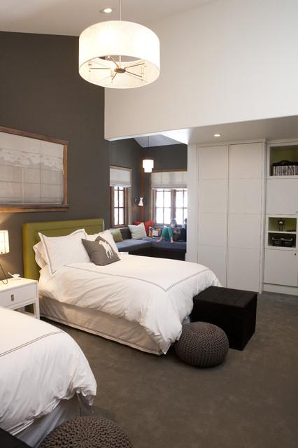 Bedroom Contemporary Kids Salt Lake City By H H Design
