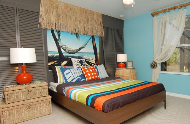 surf inspired room. Black Bedroom Furniture Sets. Home Design Ideas