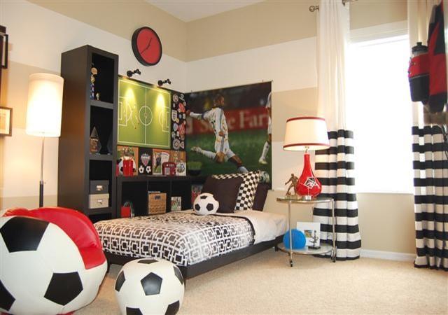 Soccer Room Contemporary Kids