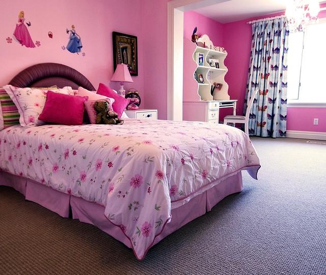 Girl's Bedroom contemporary-kids