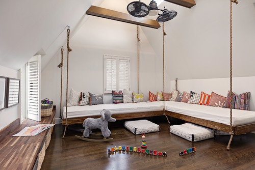 Hanging Beds Foster Family Fun In A Pittsburgh Bonus Room Pittsburgh Magazine