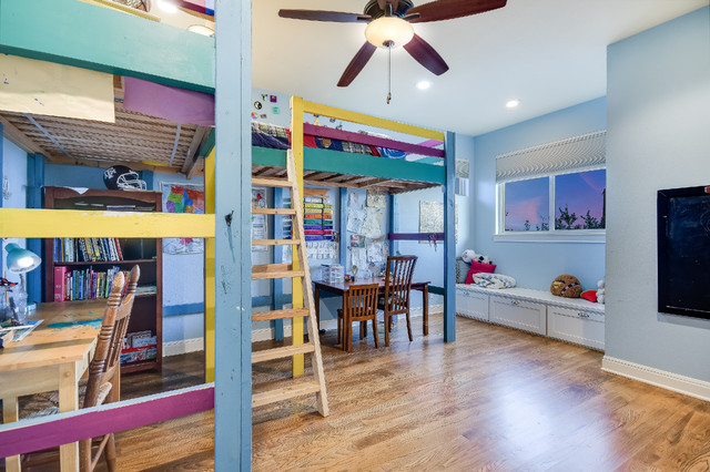 Kids' room - eclectic kids' room idea in Other