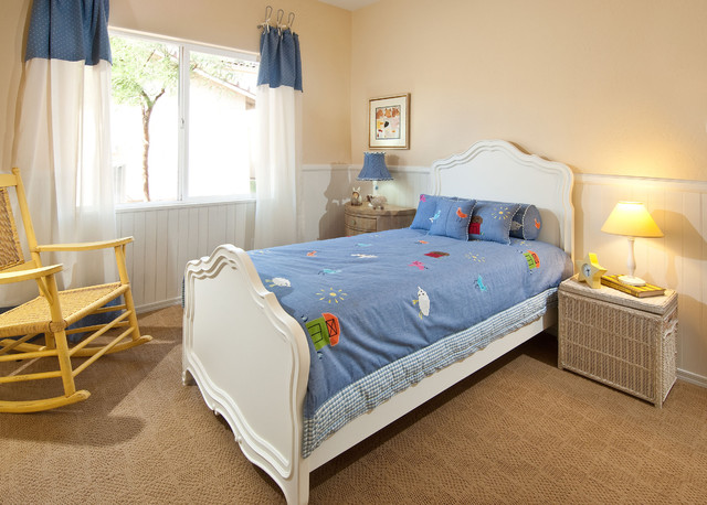 Cottage Style Model Home traditional-kids