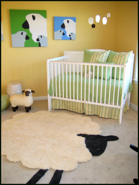 Counting Sheep Nursery Modern Kids Atlanta By