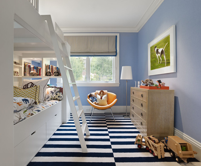 Cow Hollow Historic Home contemporary kids