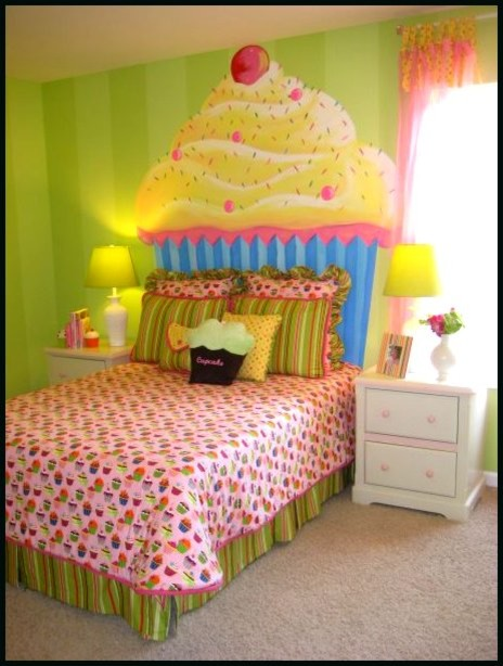 Cupcake Girl 39 S Room Modern Kids Atlanta By Modern