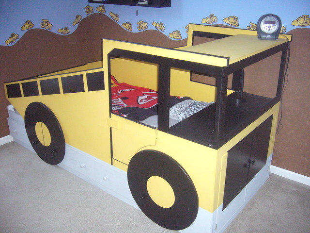 Dump Truck Toddler Bed : Custom beds traditional kids kansas city by boehm