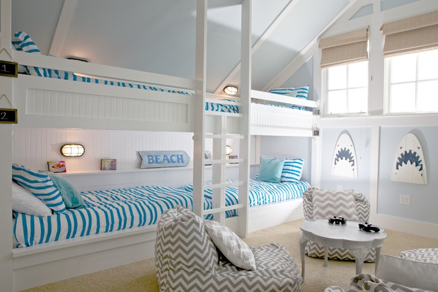 Custom Bunk Beds Beach Style Kids Other