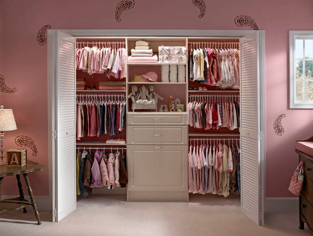 Custom Closets Organizers traditional-kids