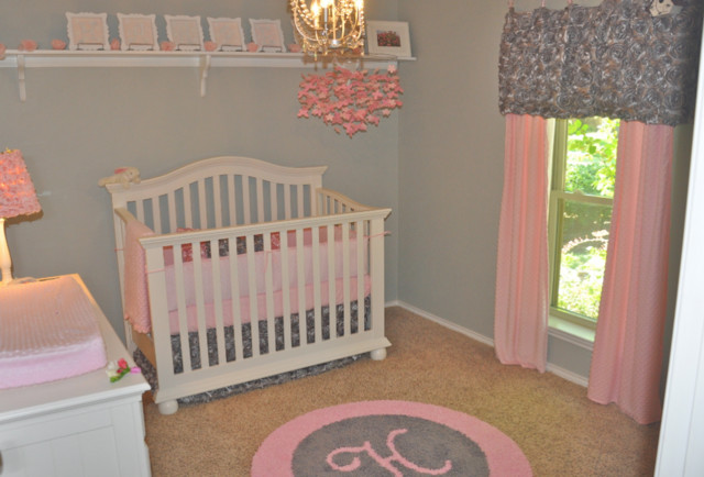 Custom Initial Monogram Rugs Contemporary Kids