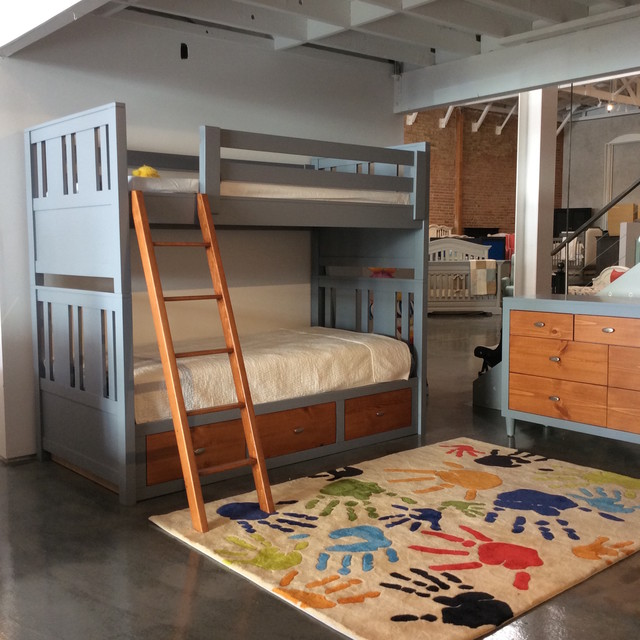 Custom Made Bunk Beds Transitional, Kids Only Furniture