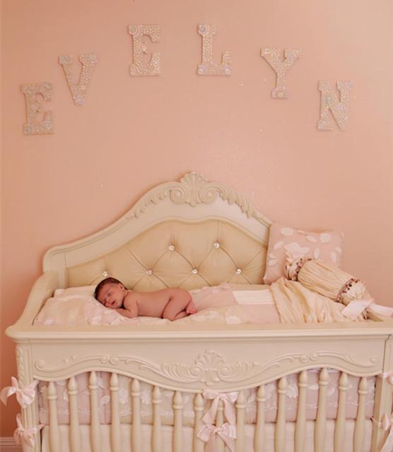 Custom Made Cribs Mediterranean Kids Los Angeles