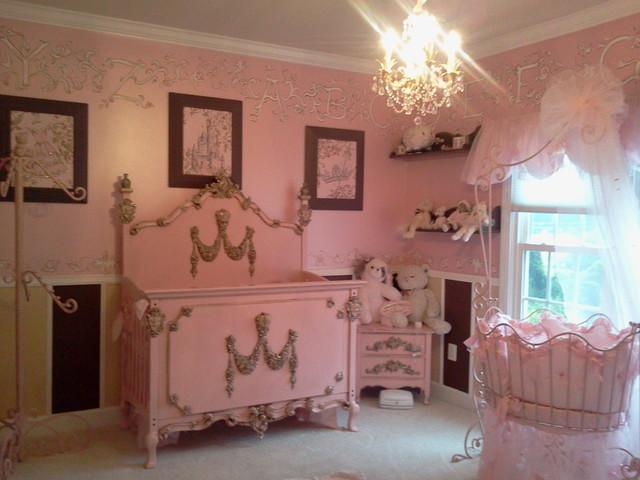 Princess Nursery Decor Decorating Ideas