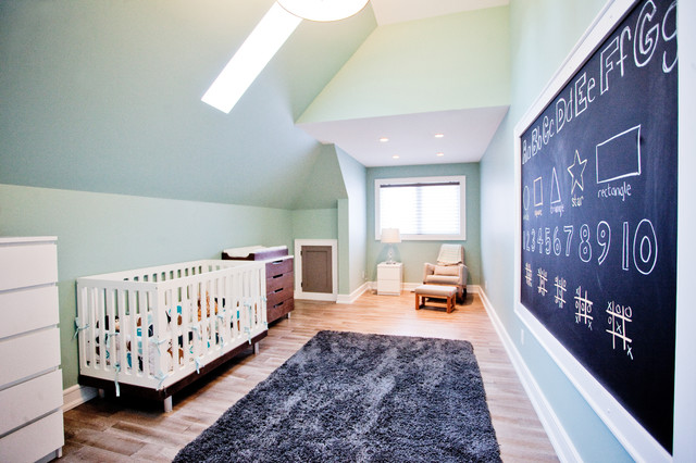 Custom Waterfront Home Barrie transitional-kids