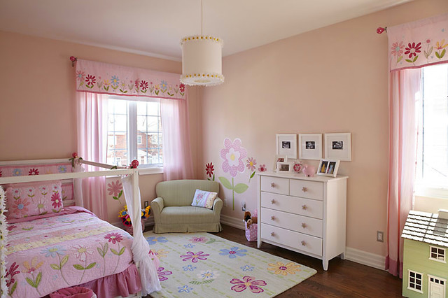 Daisy Theme Bedroom Modern Kids Toronto By K West
