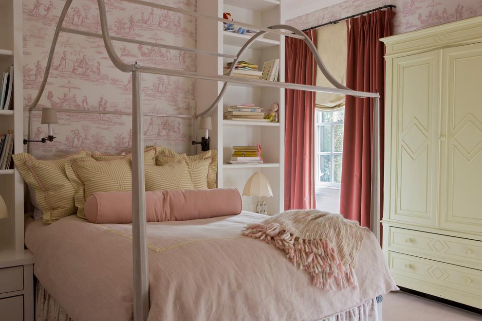 Elegant girl kids' room photo in Other