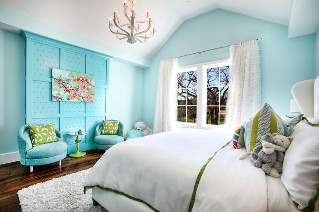 Daughter S Bedroom 16 X 17 Eclectic Kids Dallas By Heritage Design Studio Houzz