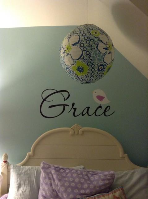 Daughter's bedroom eclectic-kids