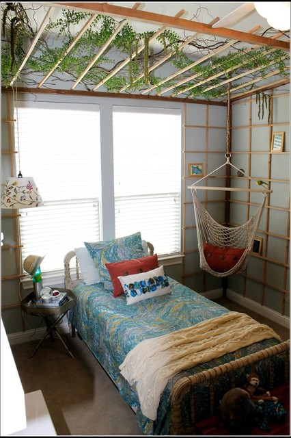 Daughter's Room Makeover eclectic-kids
