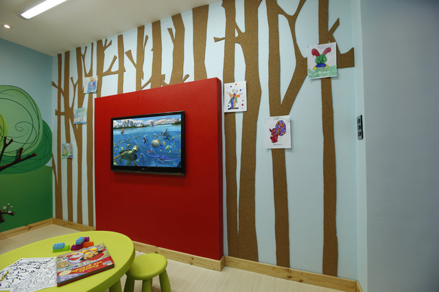 Daycare, playroom contemporary-kids