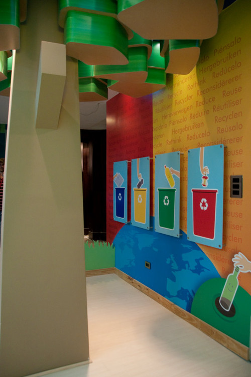 Daycare, playroom contemporary kids