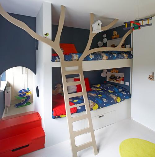 Kinder Stockbett zwei kinder ein stockbett