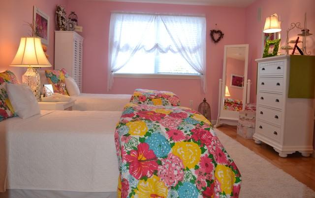 Detached Condo Interior Design traditional-bedroom