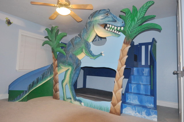 Dino Bunk Bed