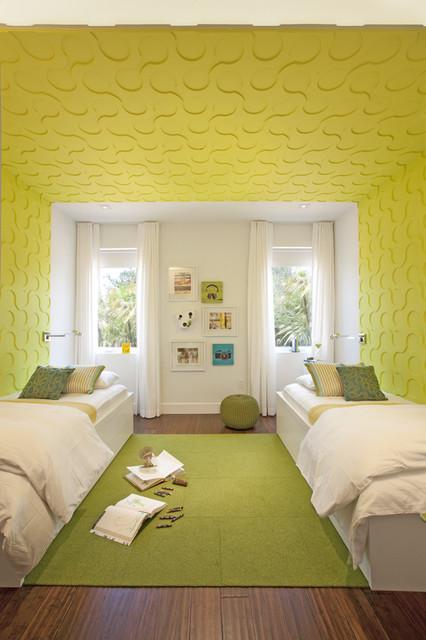 DKOR Interiors - A Modern Miami Home- Interior Design contemporary-kids