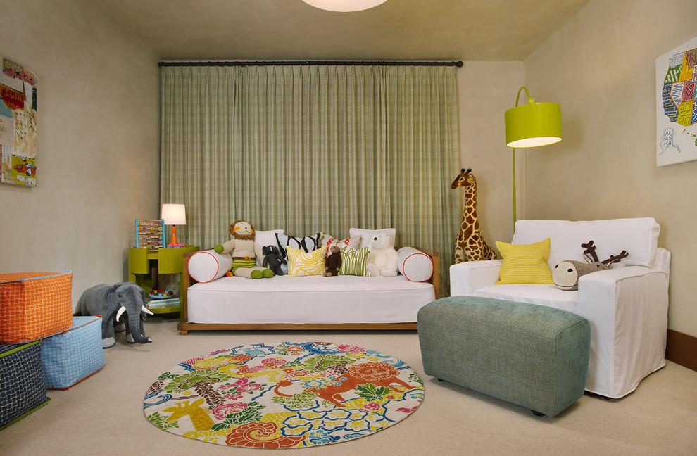 Inspiration for a timeless playroom remodel in Denver