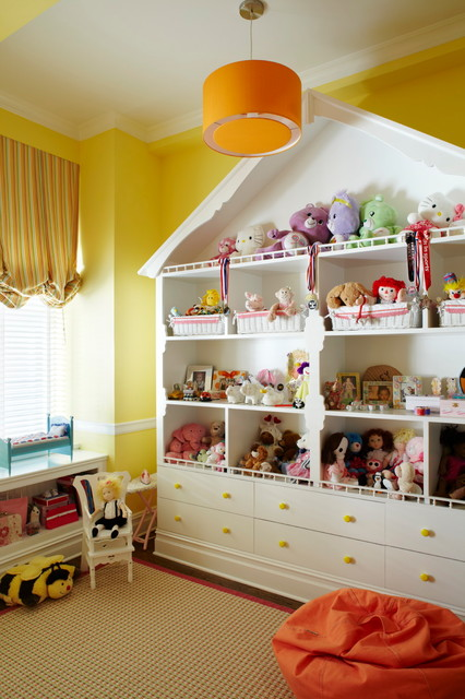 Example of a classic playroom design in New York