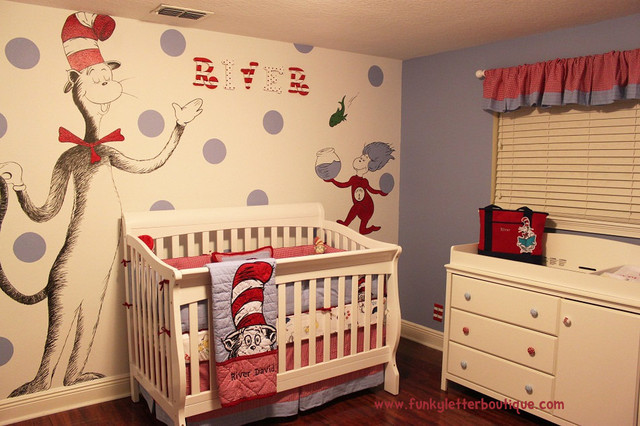 Dr Seuss Cat In The Hat Nursery Modern Kids