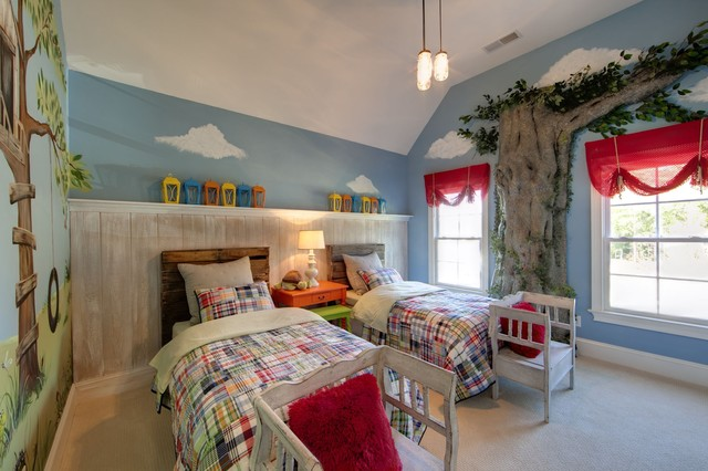 Eclectic Interiors traditional-kids