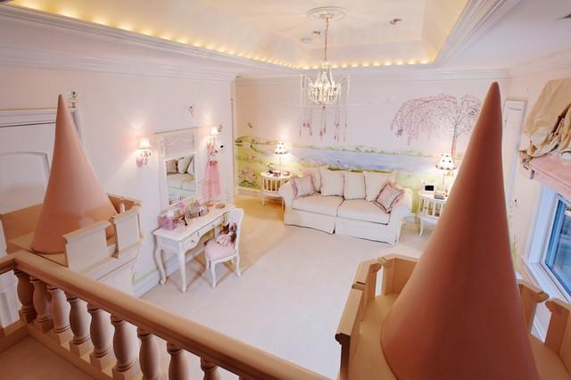 Princess bedroom eclectic kids dc metro by dahlia for Kids princess bedroom designs
